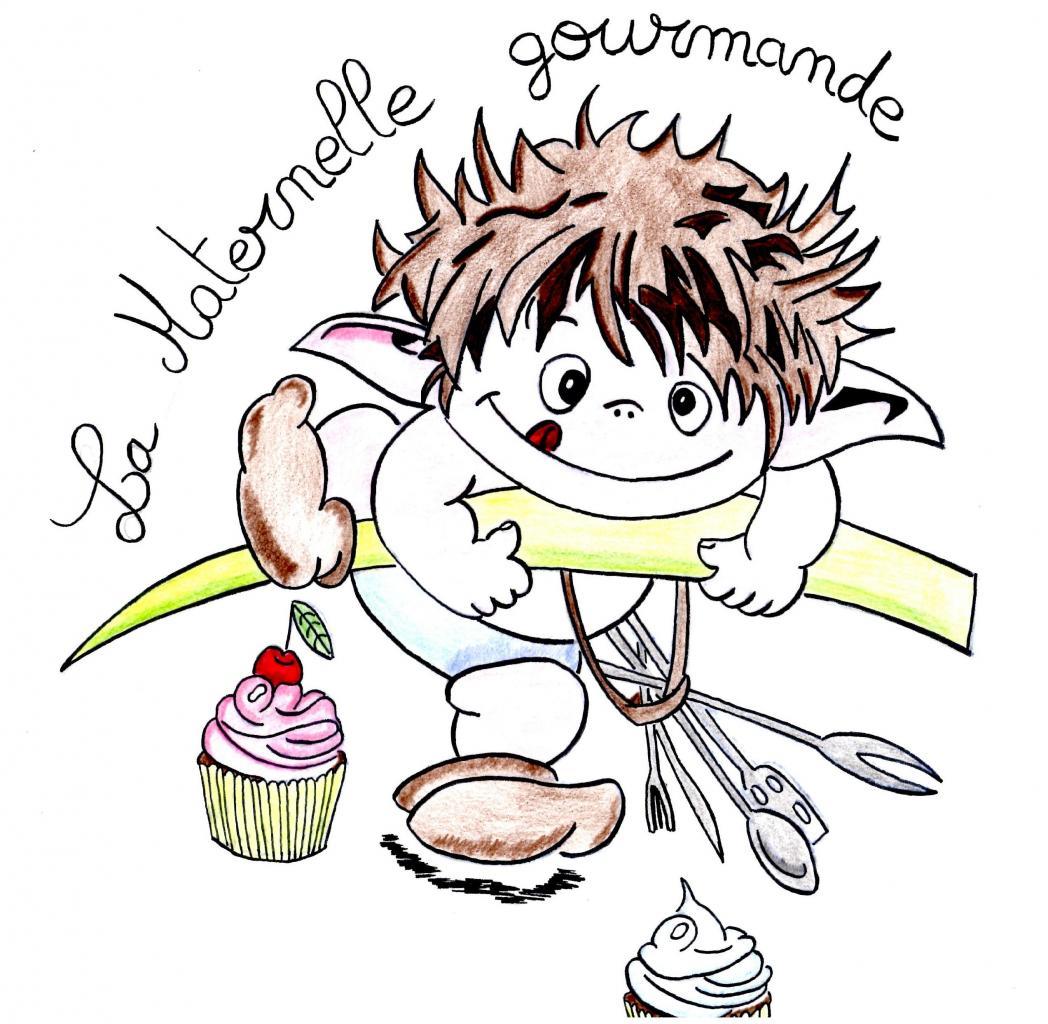 logo de La Maternelle Gourmande