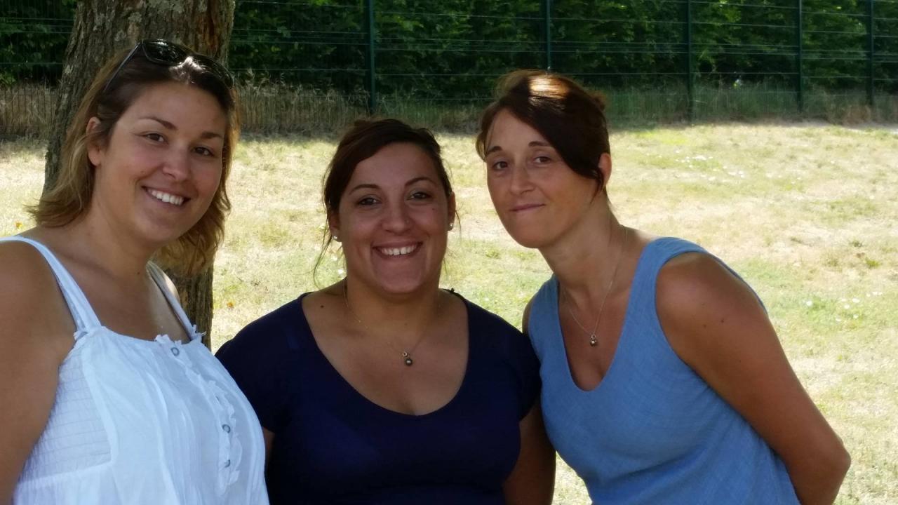 L'équipe de la Maternelle Gourmande